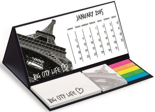 Tischkalender zum Aufstellen Basic als Werbeartikel