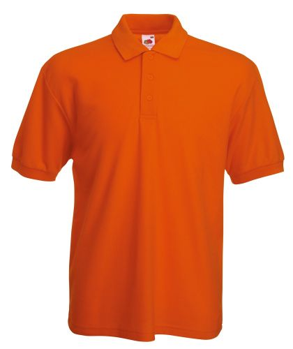 Pique-Polo-Shirt Fruit of the Loom 65/35 als Werbeartikel