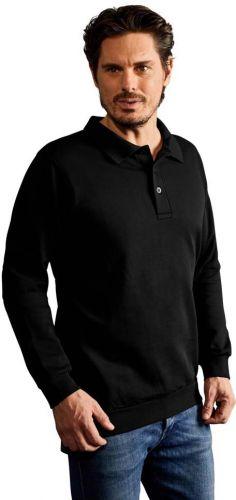 Promodoro Herren Polo Sweatshirt als Werbeartikel