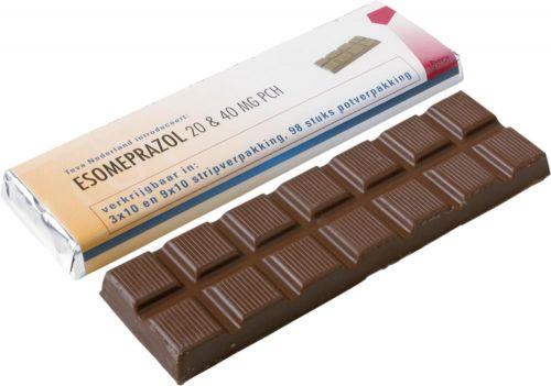 Schokoladentafel als Werbeartikel