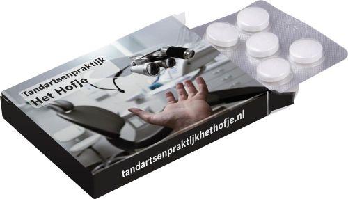 Medizinbox mit Complimints 10er Blister als Werbeartikel