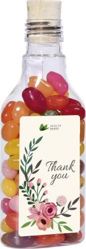 Flaschenpost Jelly Beans als Werbeartikel
