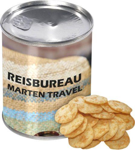 Dose Käse Cracker als Werbeartikel
