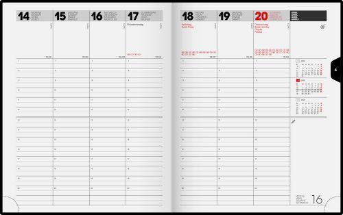 Buchkalender Modell 761 Balacron als Werbeartikel