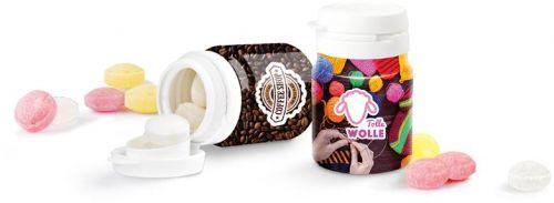 Top Can® Bonbons Pfefferminz, Fruchtmix als Werbeartikel