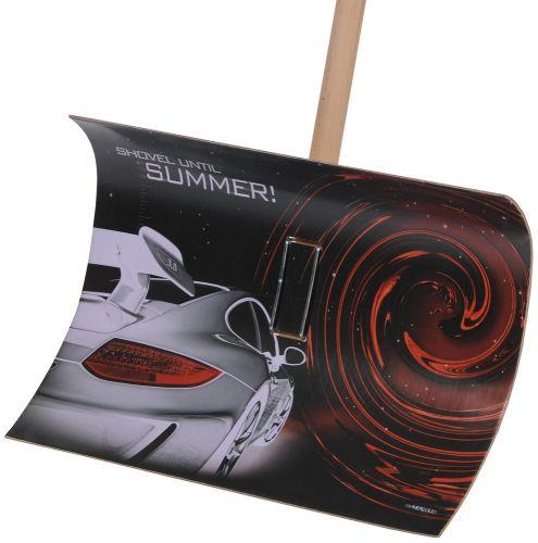Schneeschieber Fortis mit Motiv Porsche als Werbeartikel