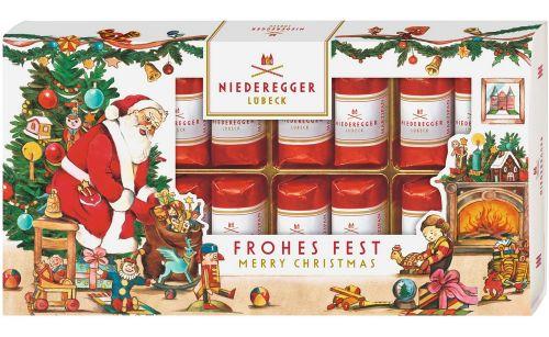 Marzipan-Klassiker im Weihnachtsschuber als Werbeartikel