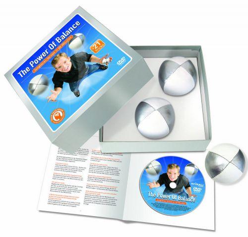 DVD-Selbstlern-Jonglierset als Werbeartikel