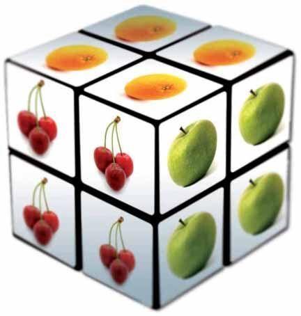 Original Rubiks Cube 2x2 57mm als Werbeartikel