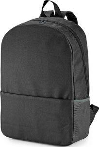 HEXA Laptop-Rucksack mit einer gepolsterten Trennwand Mesh-Seitentasche und Fronttasche als Werbeartikel
