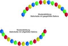 Ballon-Deko-Fix-Girlande ohne Ballons
