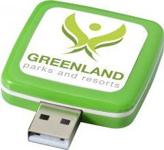 USB-Stick Rotating Square