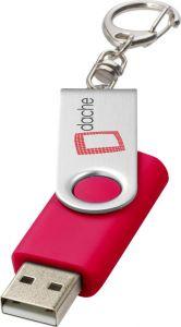 USB-Stick Rotate mit Schlüsselanhänger als Werbeartikel