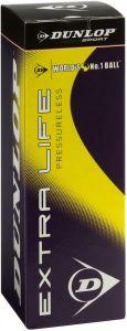 Dunlop Extra Life Pressureless Tennisball