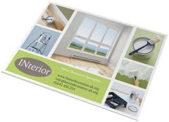 A3 Notizblock Desk-Mate® mit Wickelumschlag als Werbeartikel