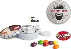 Skittles Mini Clic Clac Box als Werbeartikel