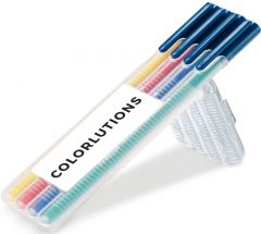 STAEDTLER triplus color, Box mit 4 Stiften als Werbeartikel