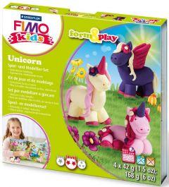 "STAEDTLER FIMO kids Modellierset ""form&play"", Unicorn als Werbeartikel"
