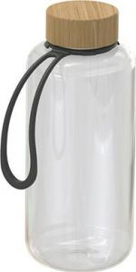 Trinkflasche Natural transparent inkl. Strap 1,0 l