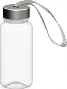 Trinkflasche Pure transparent 0,4 l als Werbeartikel