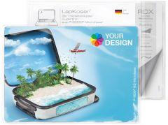 LapKoser® 3in1 Notebookpad 21x15 cm im Polybeutel mit Standardkarte