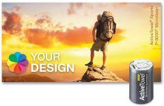 ActiveTowel® Sports Microfaser-Sporthandtuch 80 x 40 cm in der Dose Standard