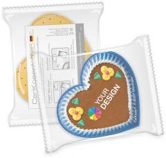 CarKoser® 2in1 Classic Scheibenschwamm Herzform, perforiert, in der Folie