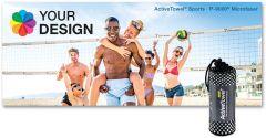 ActiveTowel® Sports Microfaser-Sporthandtuch 180 x 70 cm als Werbeartikel
