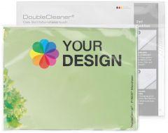 DoubleCleaner® Microfasertuch 40 x 30 cm als Werbeartikel