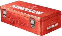 Toolbox Marzipan Männersache als Werbeartikel