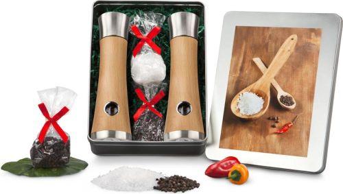 Präsentset Salz- und Pfeffermühlen-Set als Werbeartikel