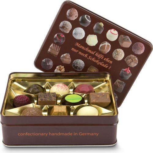 Pralinendose 125g, Schokoladenauswahl als Werbeartikel