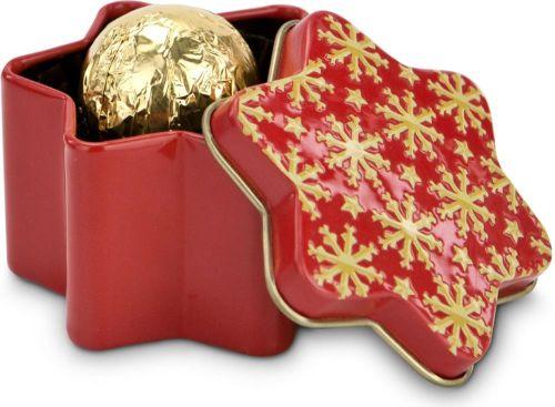 Präsentset Weihnachtsstern als Werbeartikel