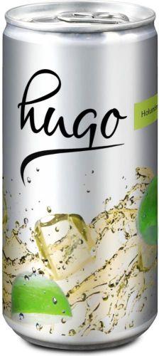 Hugo alkoholischer Cocktail Slimline-Dose 200 ml als Werbeartikel