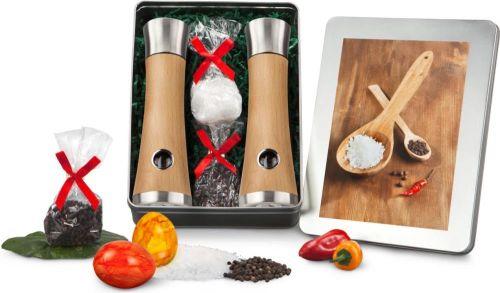Präsentset Salz- & Pfeffermühlen für Ostern als Werbeartikel