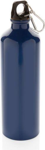 XL Aluminium Flasche mit Karabiner als Werbeartikel