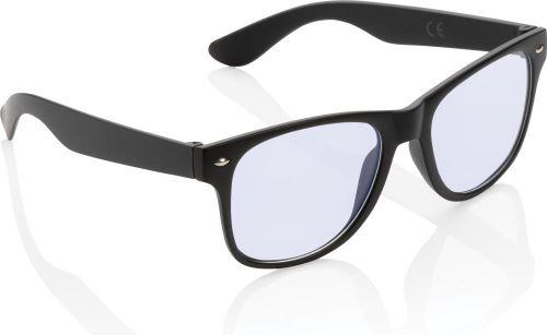 Blaulichtfilter-Brille als Werbeartikel