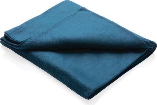 Fleece-Decke im Etui als Werbeartikel