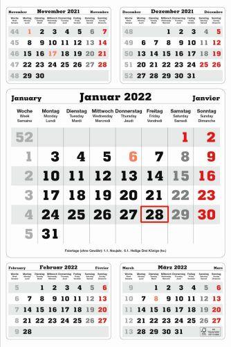 5-Monats-Planer als Werbeartikel