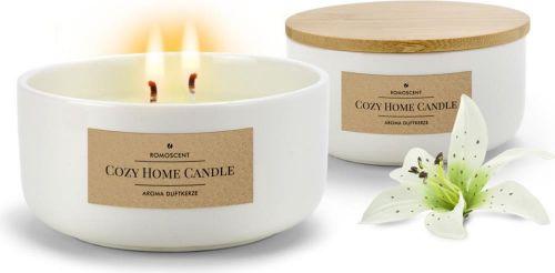 Aromakerze Cozy Home als Werbeartikel