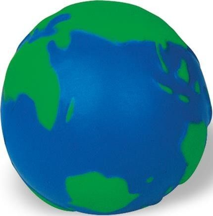 Anti-Stress-Ball Globus als Werbeartikel