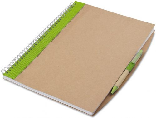 Recyceltes Notizbuch A4