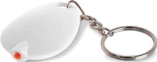 Schlüsselanhänger mit LED-Lampe als Werbeartikel