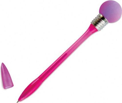 Kugelschreiber mit Glühbirne als Werbeartikel