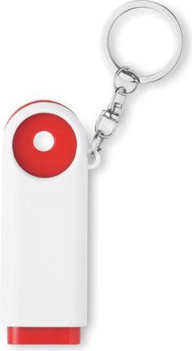Schlüsselring mit Chip/LED als Werbeartikel