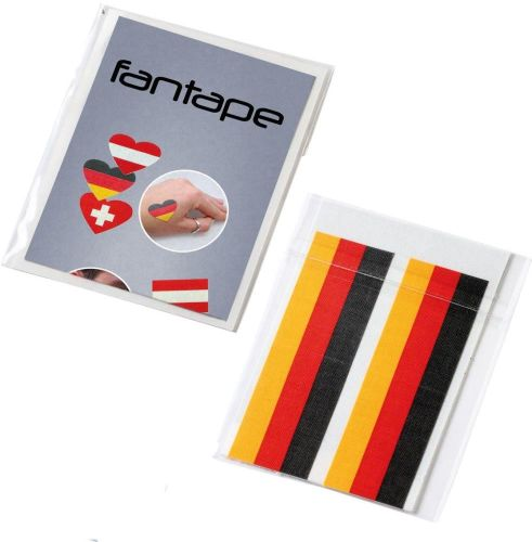 Fantape Rechteck 4er-Set Deutschland als Werbeartikel