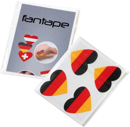 Fantape Herz 4er-Set Deutschland als Werbeartikel