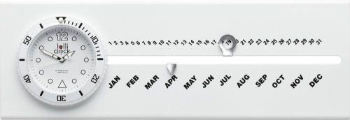 Uhr mit Kalender Lolliclock Calendar als Werbeartikel