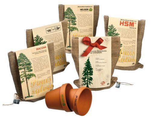 Pflanze einen Baum als Werbeartikel