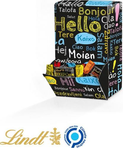 Display Box Lindt Hello Mini Sticks, Hello Design als Werbeartikel